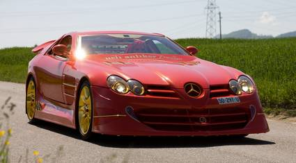 McLaren SLR 999 Red Gold Dream 01